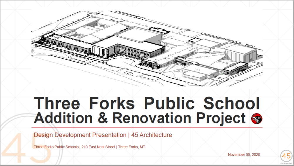 Three Forks Public School Addition & Renovation Project