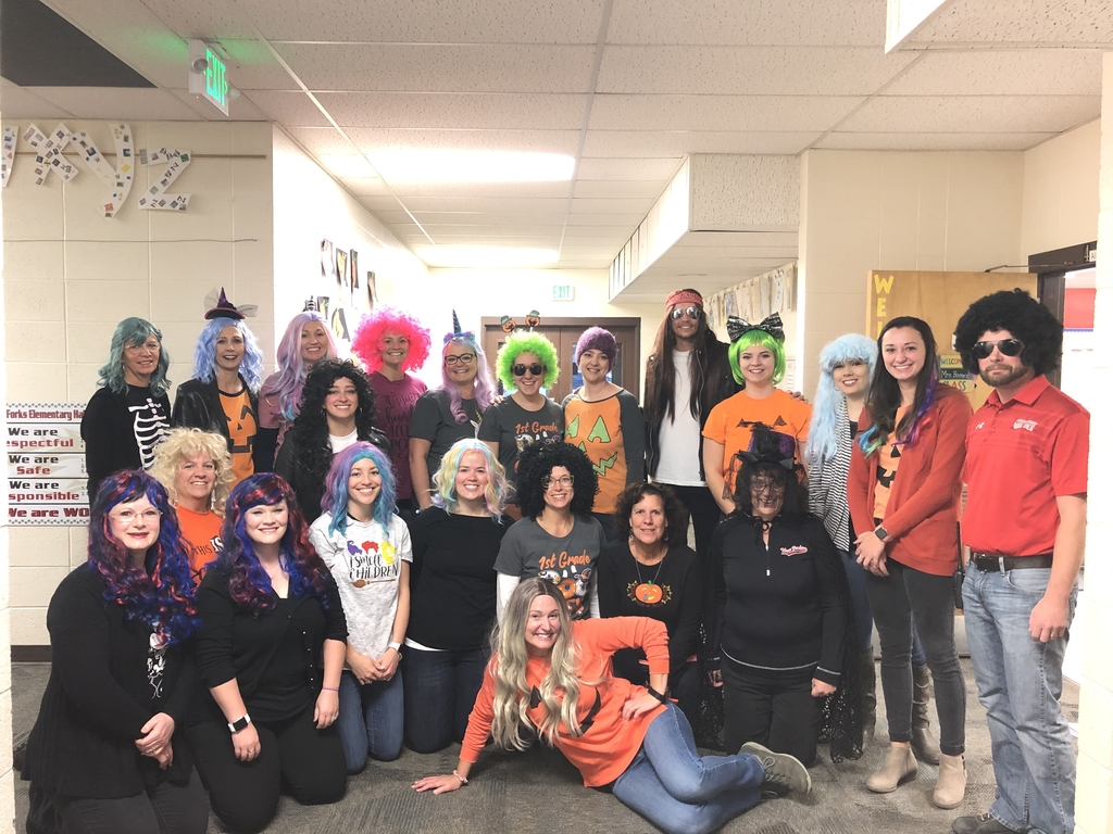 TFES Staff is Wiggin' Out!